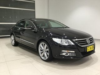 2010 Volkswagen Passat Type 3CC MY10 125TDI DSG CC Black 6 Speed Sports Automatic Dual Clutch Coupe.