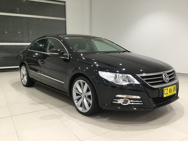 Used Volkswagen Passat Type 3CC MY10 125TDI DSG CC Alexandria, 2010 Volkswagen Passat Type 3CC MY10 125TDI DSG CC Black 6 Speed Sports Automatic Dual Clutch Coupe
