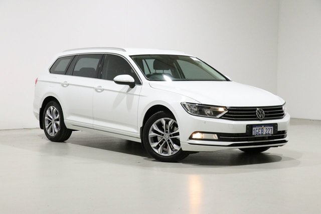 Used Volkswagen Passat 3C MY17 132 TSI Bentley, 2016 Volkswagen Passat 3C MY17 132 TSI White 7 Speed Auto Direct Shift Wagon
