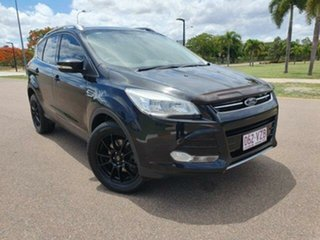 2014 Ford Kuga TF Ambiente AWD Panther Black 6 Speed Sports Automatic Wagon.