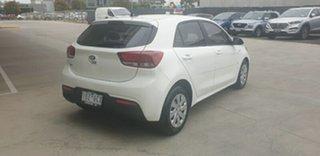 2019 Kia Rio YB MY19 S Clear White 4 Speed Sports Automatic Hatchback.