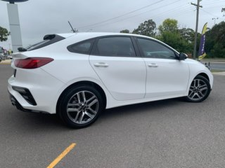 2019 Kia Cerato Hatch Sport White Sports Automatic Hatchback.