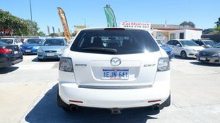 2008 Mazda CX-7 ER1031 MY07 Luxury White 6 Speed Sports Automatic Wagon