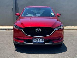 2020 Mazda CX-5 KF4WLA Akera SKYACTIV-Drive i-ACTIV AWD Soul Red Crystal 6 Speed Sports Automatic.