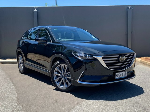 Demo Mazda CX-9 TC GT SKYACTIV-Drive Hindmarsh, 2020 Mazda CX-9 TC GT SKYACTIV-Drive Jet Black 6 Speed Sports Automatic Wagon