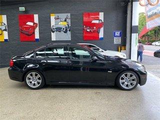 2008 BMW 323i E90 323i Black Sapphire Sports Automatic Sedan.