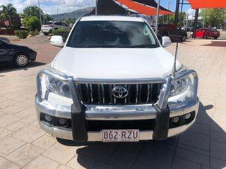 2011 Toyota Landcruiser Prado GRJ150R GXL White 5 Speed Sports Automatic Wagon.