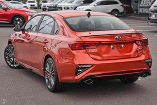 2020 Kia Cerato BD MY21 GT DCT Orange 7 Speed Sports Automatic Dual Clutch Sedan