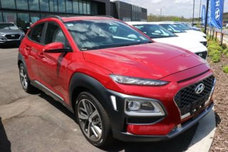 2020 Hyundai Kona OS.3 MY20 Highlander 2WD Pulse Red 6 Speed Sports Automatic Wagon.