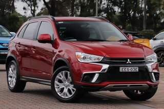 2018 Mitsubishi ASX XC MY19 ES 2WD Red 1 Speed Constant Variable SUV