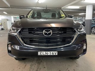 2020 Mazda BT-50 TFS40J XT Blue 6 Speed Manual Cab Chassis