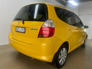 2007 Honda Jazz MY06 GLi Yellow Continuous Variable Hatchback.