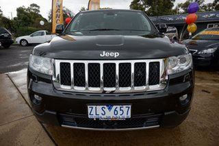 2012 Jeep Grand Cherokee WK MY2013 Overland Brilliant Black 6 Speed Sports Automatic Wagon