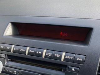 2009 Mitsubishi Lancer CJ MY10 ES Sportback Black 6 Speed Constant Variable Hatchback