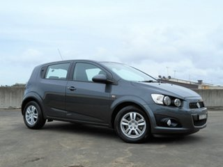 2016 Holden Barina TM MY16 CD Grey 5 Speed Manual Hatchback.