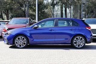 2020 Hyundai i30 PD.V4 MY21 N Line D-CT Premium Blue 7 Speed Sports Automatic Dual Clutch Hatchback