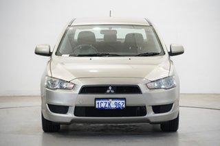 2008 Mitsubishi Lancer CJ MY08 ES Silver 6 Speed Constant Variable Sedan.