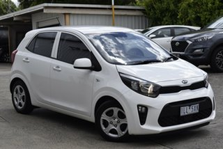2017 Kia Picanto TA MY17 SI White 4 Speed Automatic Hatchback.