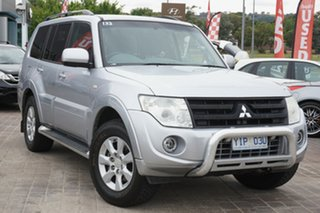 2012 Mitsubishi Pajero NW MY12 Activ Silver 5 Speed Sports Automatic Wagon.