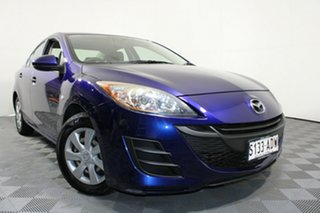 2009 Mazda 3 BL10F1 Neo Activematic Indigo Lights 5 Speed Sports Automatic Sedan