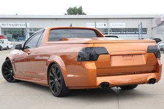 2017 Holden Ute VF II MY17 SV6 Orange 6 Speed Automatic Utility.