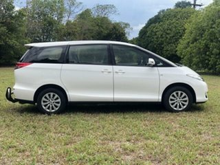2017 Toyota Tarago GSR50R MY16 GLI V6 Glacier White 6 Speed Automatic Wagon.
