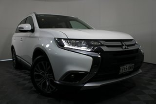 2016 Mitsubishi Outlander ZK MY16 XLS 2WD White Solid 6 Speed Constant Variable Wagon.
