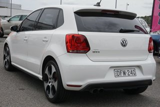 2013 Volkswagen Polo 6R MY13.5 GTI DSG White 7 Speed Sports Automatic Dual Clutch Hatchback