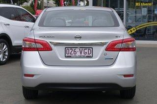 2014 Nissan Pulsar B17 ST Silver 1 Speed Constant Variable Sedan