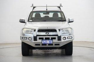 2012 Holden Colorado RG MY13 LTZ Crew Cab Silver 5 Speed Manual Utility.