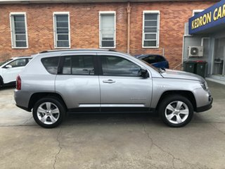 2015 Jeep Compass MK MY16 Sport CVT Auto Stick Silver 6 Speed Constant Variable Wagon.