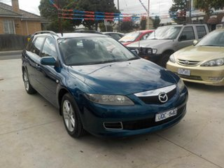 2006 Mazda 6 GG 05 Upgrade Classic Blue 5 Speed Auto Activematic Wagon.