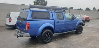 2013 Nissan Navara D40 S6 MY12 ST Blue 5 Speed Sports Automatic Utility.