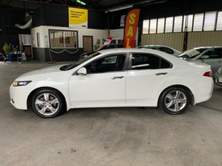 2012 Honda Accord 10 MY13 Euro White 5 Speed Automatic Sedan