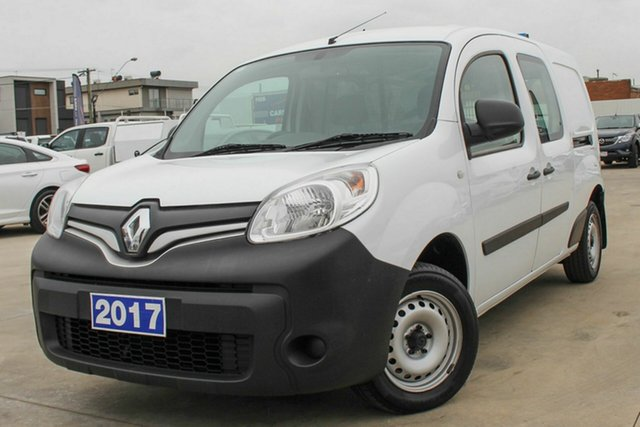 Used Renault Kangoo F61 Phase II Maxi LWB Coburg North, 2017 Renault Kangoo F61 Phase II Maxi LWB White 6 Speed Manual Van