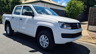 2015 Volkswagen Amarok 2H MY15 TDI420 (4x2) White 8 Speed Automatic Dual Cab Utility.
