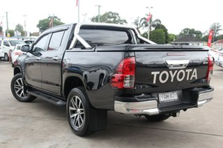 2016 Toyota Hilux GUN126R 4x4 Eclipse Black 6 Speed Automatic Dual Cab