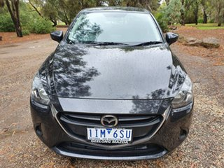 2016 Mazda 2 DJ Series Maxx Black Sports Automatic Hatchback
