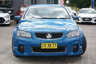 2013 Holden Commodore VE II MY12.5 SV6 Z Series Blue 6 Speed Manual Sedan.