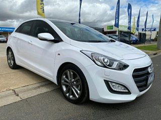 2015 Hyundai i30 GD3 Series II MY16 SR Premium Creamy White 6 Speed Sports Automatic Hatchback.