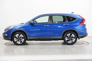 2015 Honda CR-V RM Series II MY16 VTi-L 4WD Blue 5 Speed Sports Automatic Wagon.