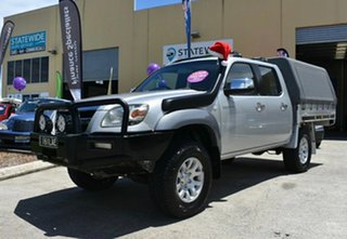 2008 Mazda BT-50 08 Upgrade B3000 Freestyle SDX (4x4) Silver 5 Speed Manual Pickup