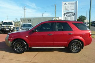 2008 Ford Territory SY SR2 RWD Red 4 Speed Sports Automatic Wagon