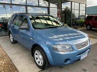 2006 Ford Territory SY TX (4x4) Blue 6 Speed Auto Seq Sportshift Wagon.