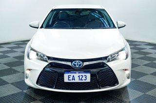 2017 Toyota Camry AVV50R Atara SL White 1 Speed Constant Variable Sedan Hybrid.
