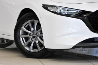 2019 Mazda 3 BP2H7A G20 SKYACTIV-Drive Pure White 6 Speed Sports Automatic Hatchback