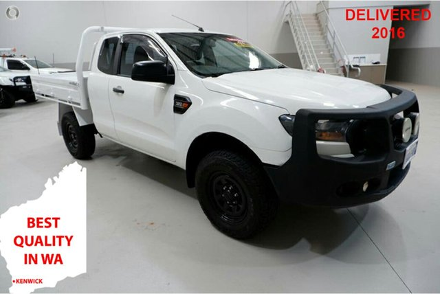 Used Ford Ranger PX MkII XL Kenwick, 2015 Ford Ranger PX MkII XL White 6 Speed Manual Cab Chassis