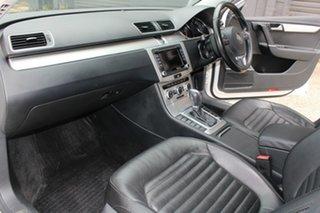 2015 Volkswagen Passat 3C MY15 130 TDI Highline White 6 Speed Direct Shift Sedan