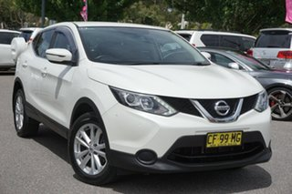 2015 Nissan Qashqai J11 ST White 1 Speed Constant Variable Wagon.