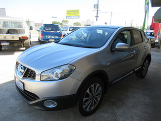 2011 Nissan Dualis J10 Series II TI Silver 6 Speed Automatic Wagon.